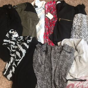 HUGE NOT SO MYSTERY BOX of 10 TOPS Size XL